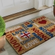 I Love London coir mat